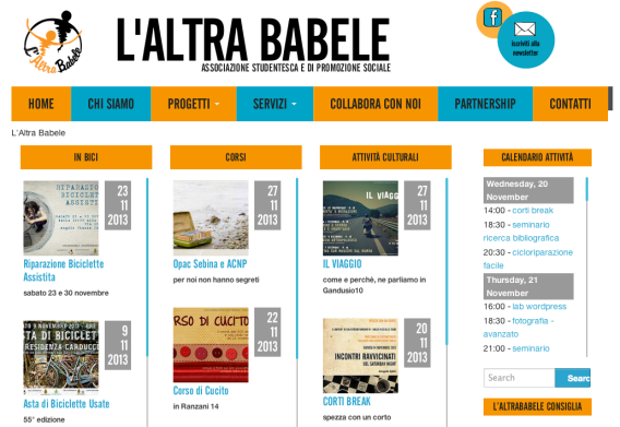 sito laltrababele.it